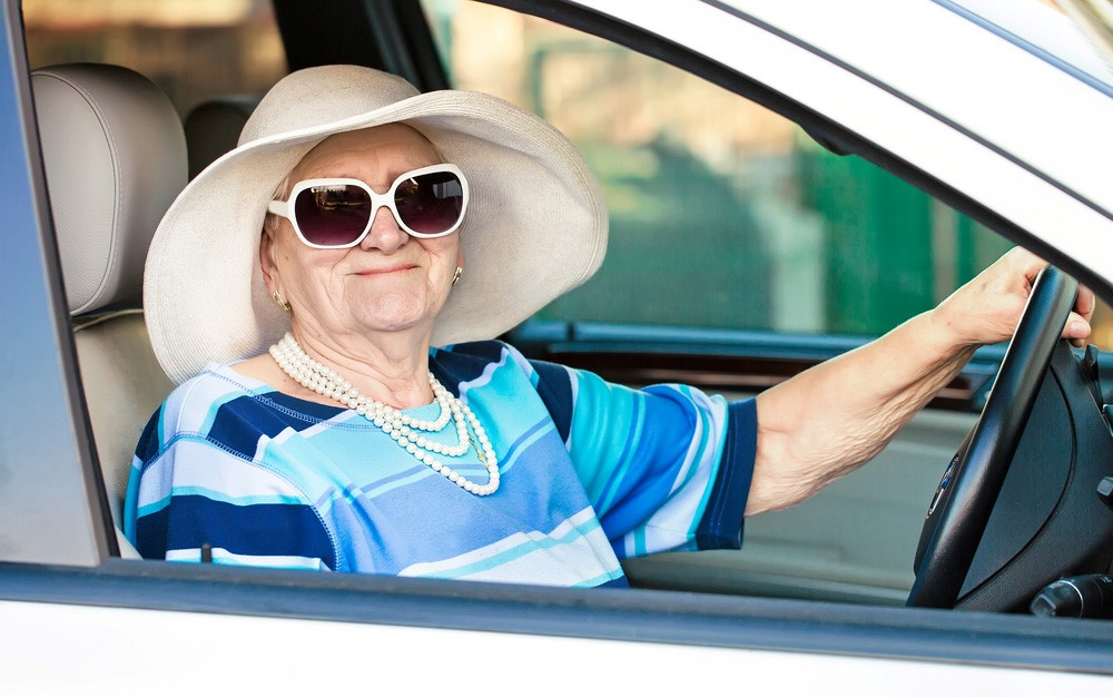 OAP in Car